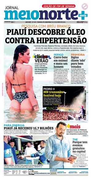 Jornal Meio Norte do dia 22-06-2019