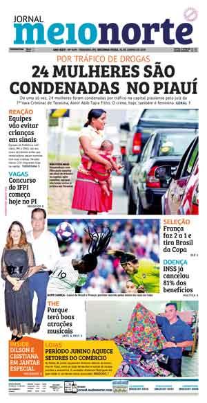Jornal Meio Norte do dia 24-06-2019