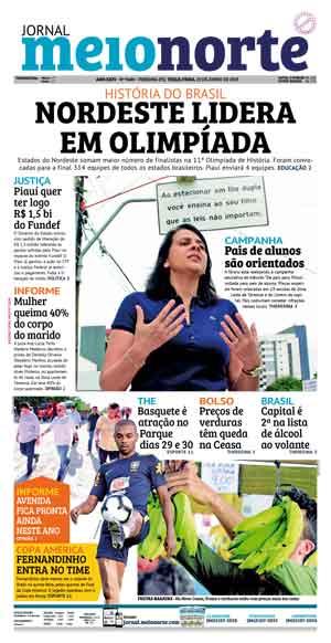Jornal Meio Norte do dia 25-06-2019