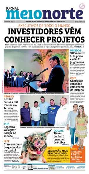 Jornal Meio Norte do dia 26-06-2019