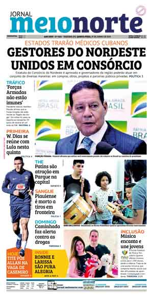 Jornal Meio Norte do dia 27-06-2019