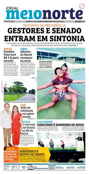 Jornal Meio Norte do dia 28-06-2019