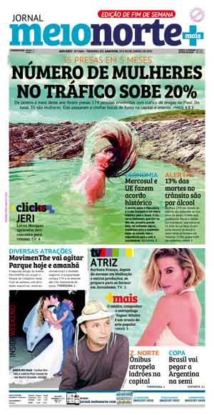 Jornal Meio Norte do dia 29-06-2019