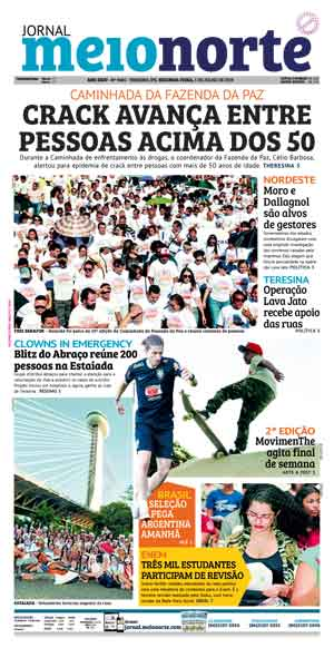 Jornal Meio Norte do dia 1-07-2019
