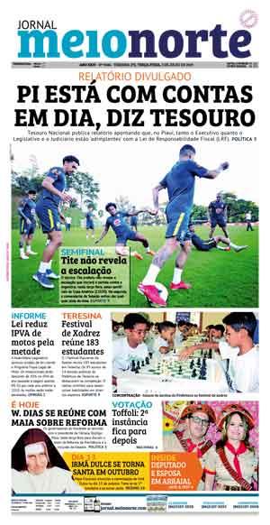 Jornal Meio Norte do dia 2-07-2019