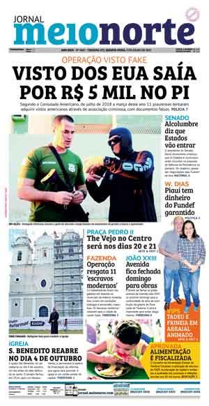 Jornal Meio Norte do dia 3-07-2019