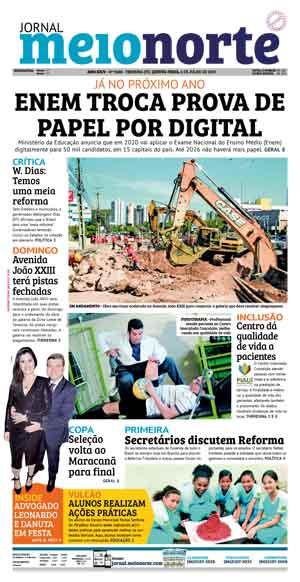 Jornal Meio Norte do dia 4-07-2019