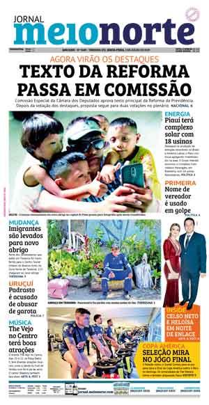 Jornal Meio Norte do dia 5-07-2019