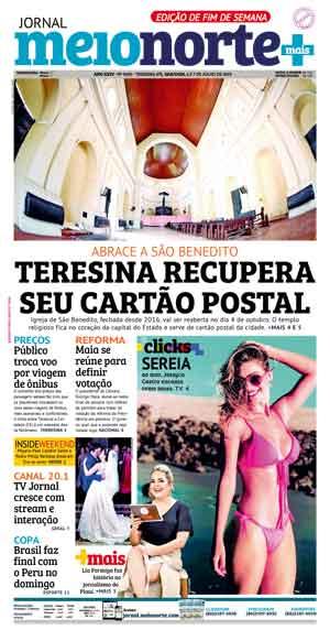Jornal Meio Norte do dia 6-07-2019