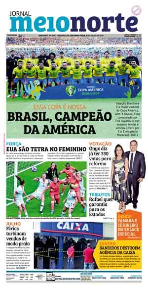 Jornal Meio Norte do dia 8-07-2019