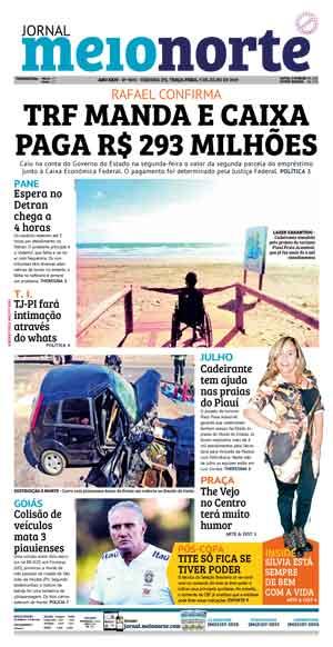 Jornal Meio Norte do dia 9-07-2019
