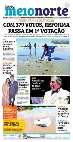 Jornal Meio Norte do dia 11-07-2019