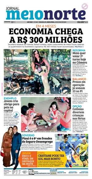 Jornal Meio Norte do dia 12-07-2019
