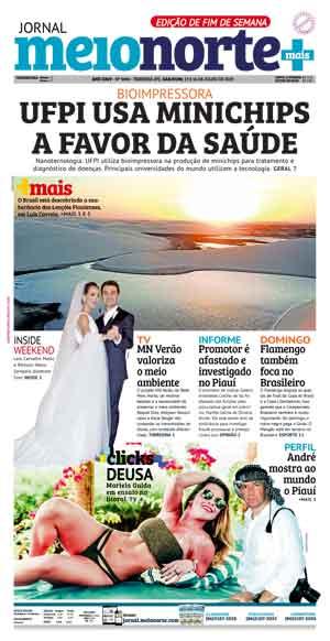 Jornal Meio Norte do dia 13-07-2019