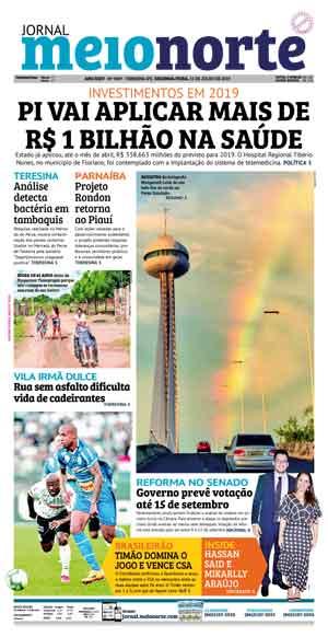 Jornal Meio Norte do dia 15-07-2019