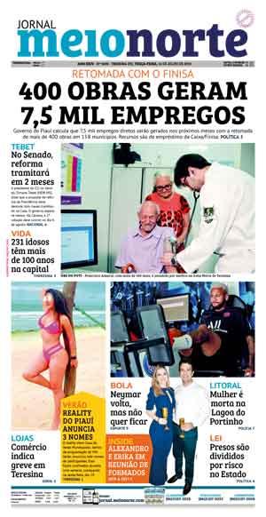 Jornal Meio Norte do dia 16-07-2019