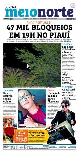 Jornal Meio Norte do dia 17-07-2019