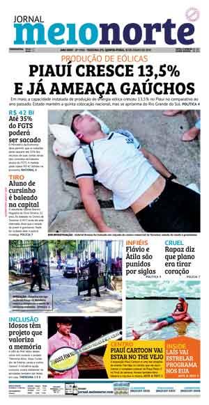 Jornal Meio Norte do dia 18-07-2019