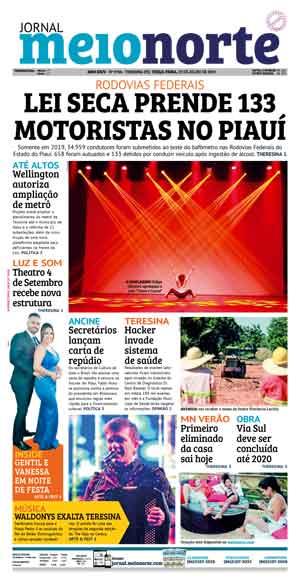 Jornal Meio Norte do dia 23-07-2019