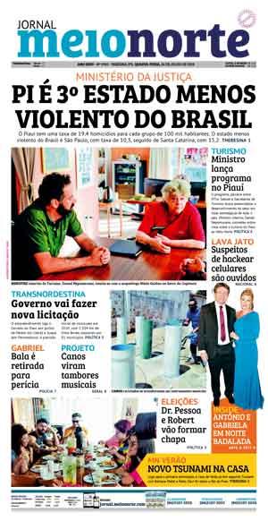 Jornal Meio Norte do dia 24-07-2019