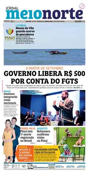 Jornal Meio Norte do dia 25-07-2019