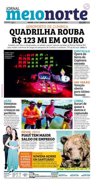 Jornal Meio Norte do dia 26-07-2019