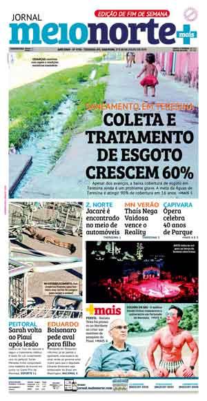 Jornal Meio Norte do dia 27-07-2019