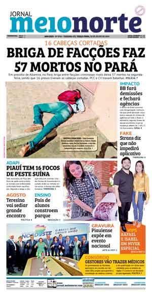 Jornal Meio Norte do dia 30-07-2019