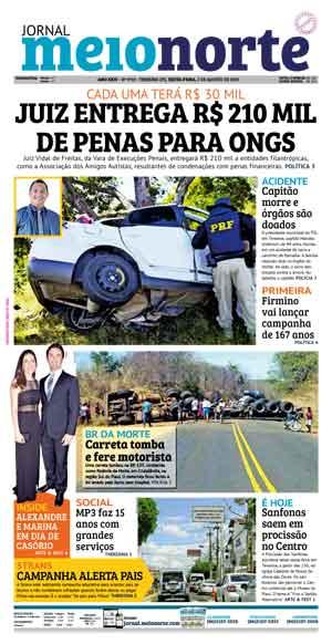 Jornal Meio Norte do dia 2-08-2019
