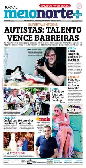 Jornal Meio Norte do dia 3-08-2019
