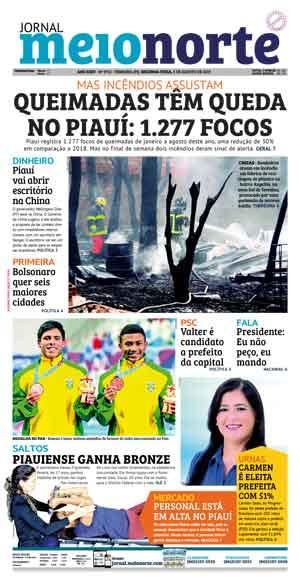 Jornal Meio Norte do dia 5-08-2019