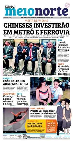 Jornal Meio Norte do dia 6-08-2019