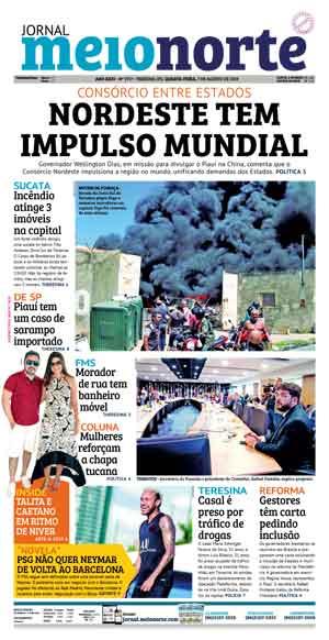 Jornal Meio Norte do dia 7-08-2019