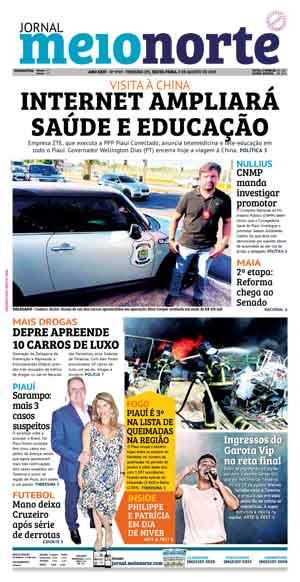 Jornal Meio Norte do dia 9-08-2019