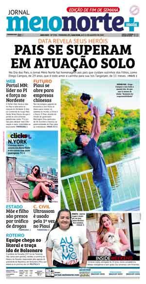 Jornal Meio Norte do dia 10-08-2019