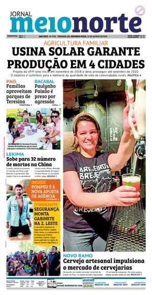 Jornal Meio Norte do dia 12-08-2019