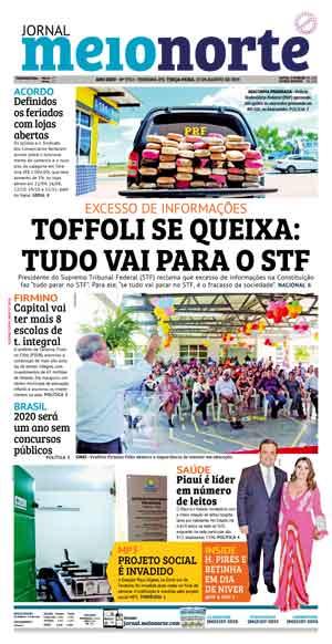 Jornal Meio Norte do dia 13-08-2019