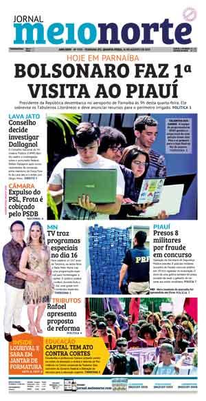 Jornal Meio Norte do dia 14-08-2019