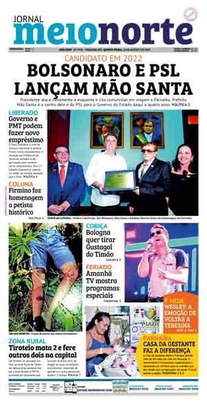 Jornal Meio Norte do dia 15-08-2019
