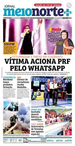 Jornal Meio Norte do dia 17-08-2019