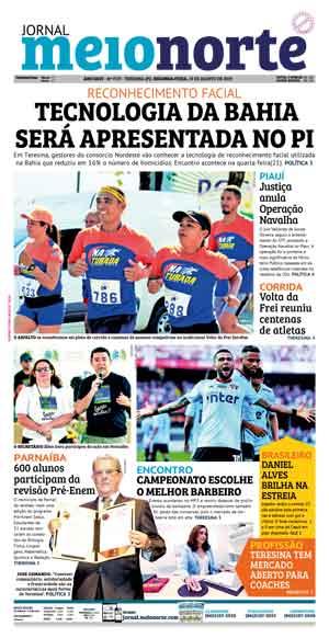 Jornal Meio Norte do dia 19-08-2019