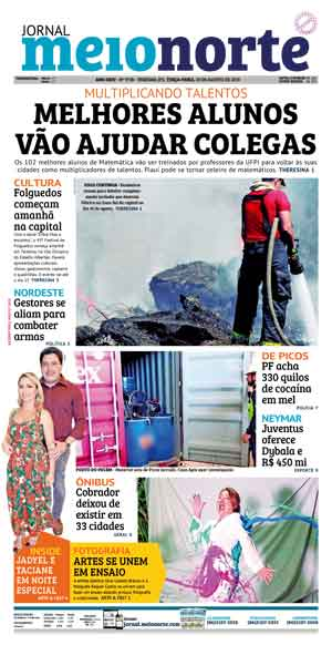 Jornal Meio Norte do dia 20-08-2019