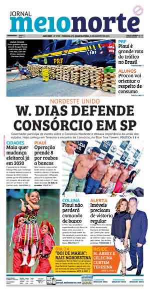 Jornal Meio Norte do dia 21-08-2019