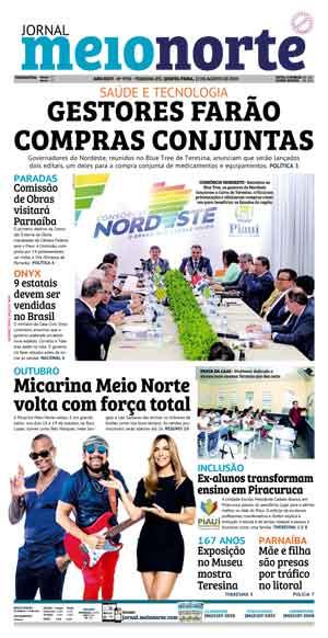 Jornal Meio Norte do dia 30-09-2006