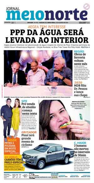 Jornal Meio Norte do dia 23-08-2019