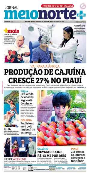 Jornal Meio Norte do dia 24-08-2019
