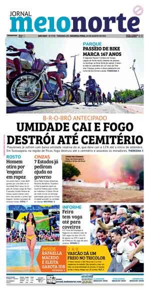 Jornal Meio Norte do dia 26-08-2019
