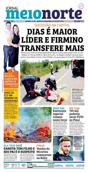 Jornal Meio Norte do dia 27-08-2019