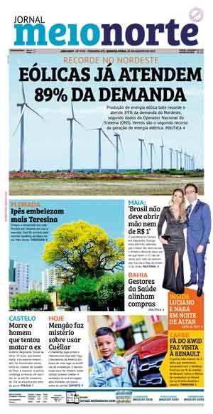 Jornal Meio Norte do dia 28-08-2019