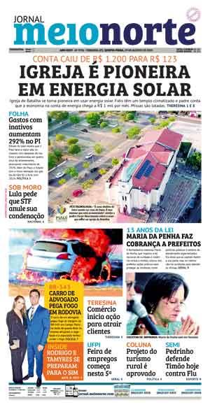 Jornal Meio Norte do dia 29-08-2019